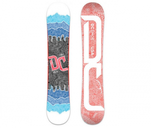 DC PBJ P SNOWBOARD'12